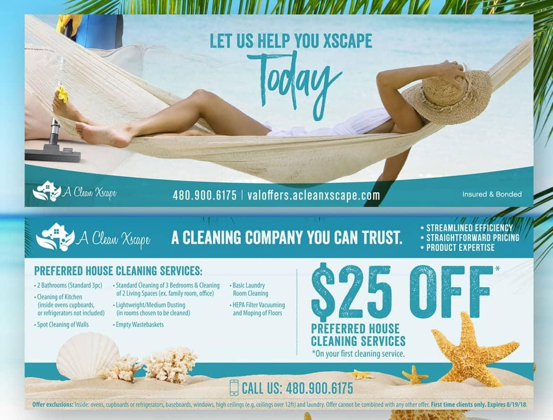 Custom Mailer Ad Design Chandler AZ