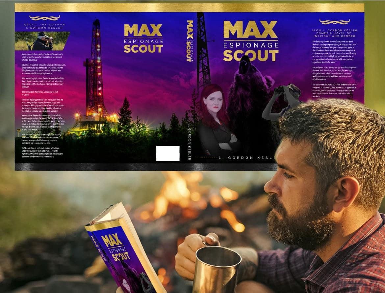 Professional Print Design Book Cover