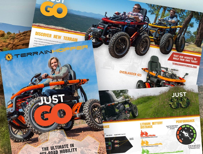 Professional Print Design Brochures